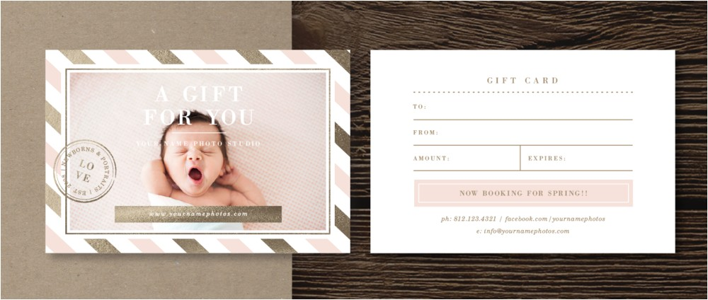 Gift Certificate Template for Photographers Print Release form Template Lily