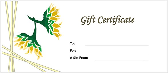 Gift Certificate Template Free Download Gift Certificate Template 34 Free Word Outlook Pdf