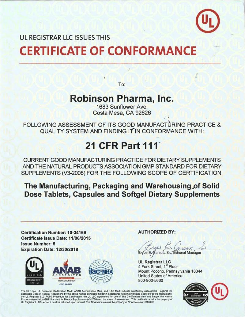 Gmp Certificate Template Articles Pharma Manufacturing Download Pdf