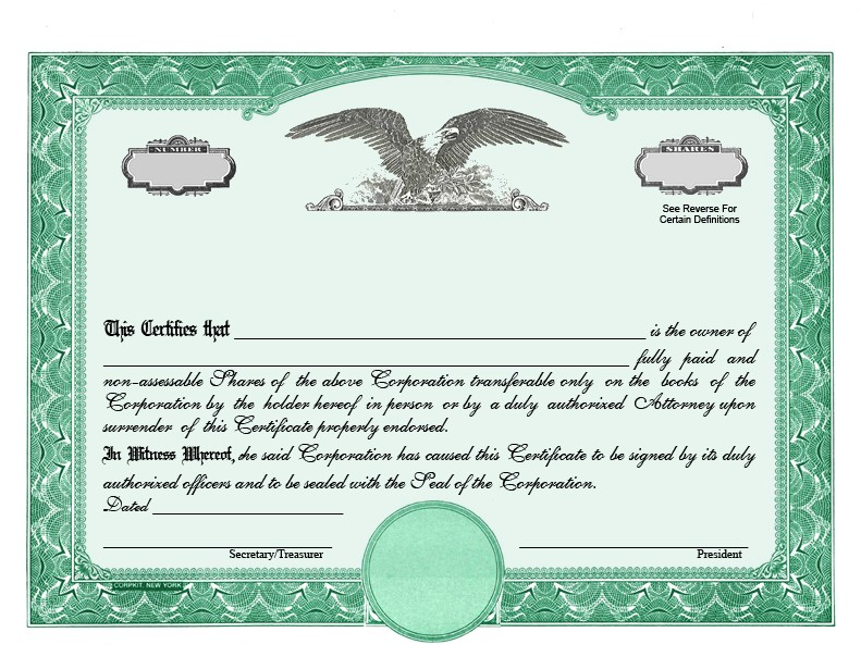 Goes Stock Certificate Template Stock Certificate Designs Certificate Templates