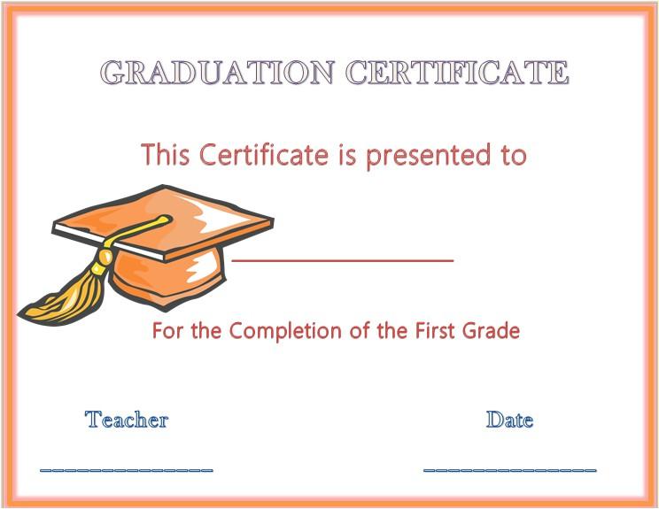 13 graduation certificate templates