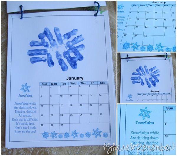 homemade calendars
