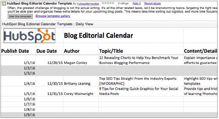 5 outils gratuits pour creer un calendrier editorial de community manager