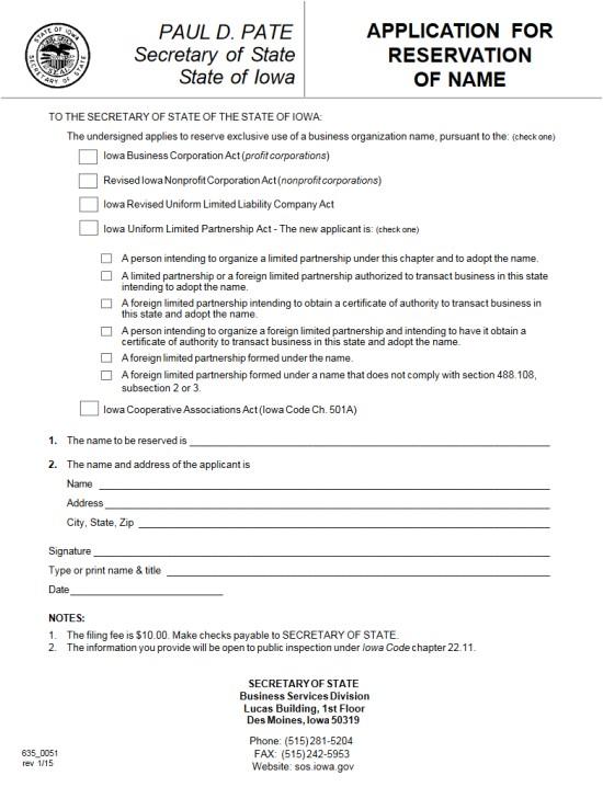 Iowa Llc Certificate Of organization Template Free Iowa Articles Of Incorporation Templates Ia