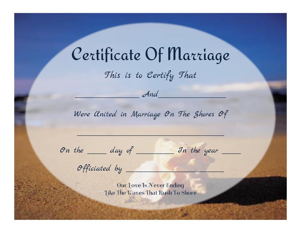 post free printable beach certificate 333851