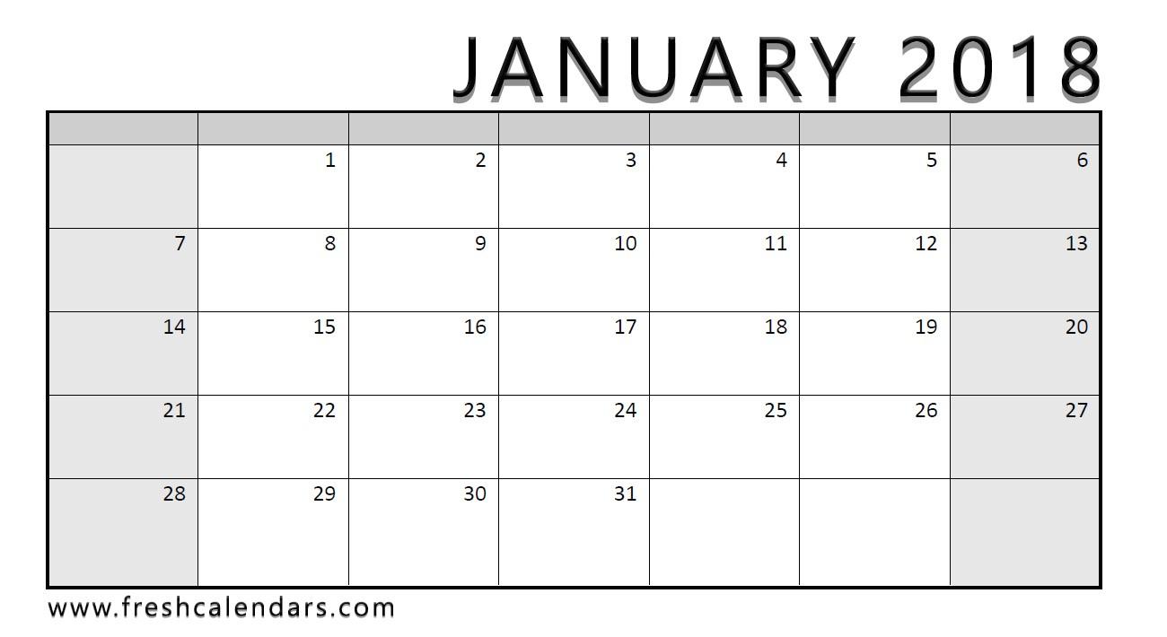 january 2018 calendar imom