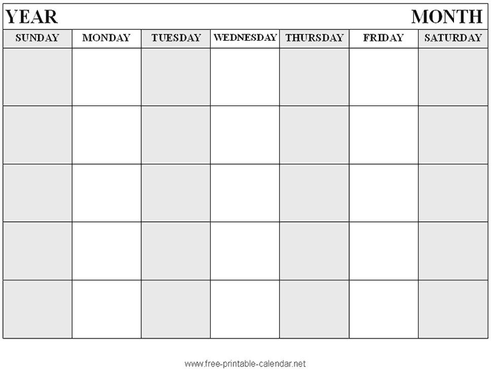 large print calendar