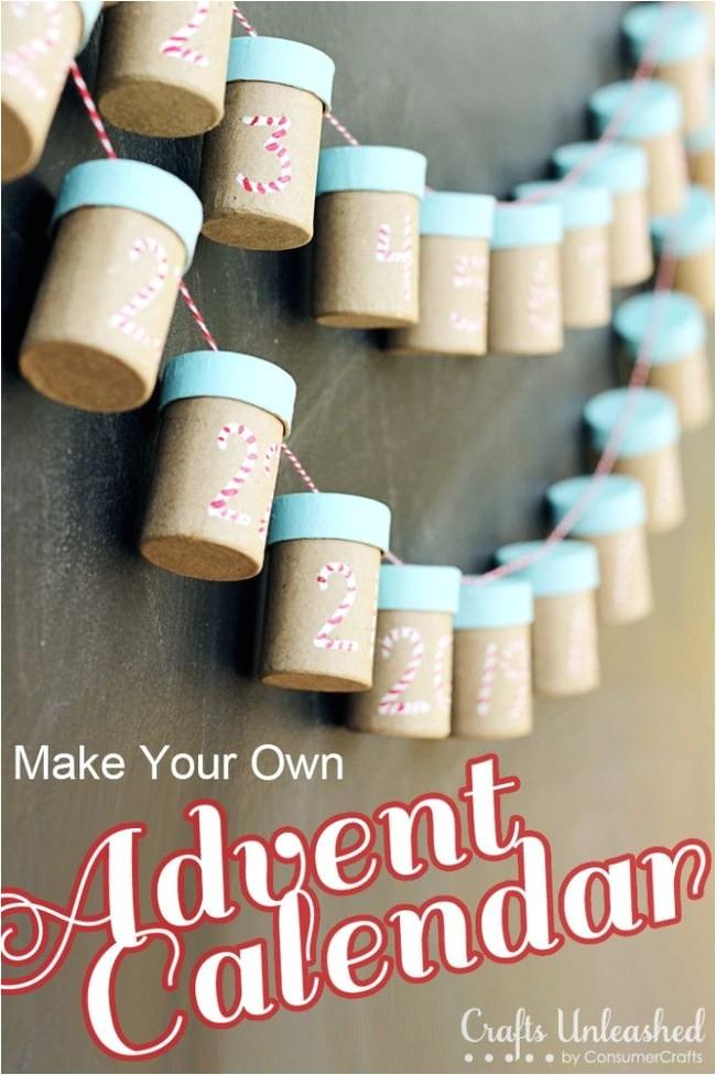Make Your Own Advent Calendar Template 17 Advent Calendar Activities to Make Tip Junkie