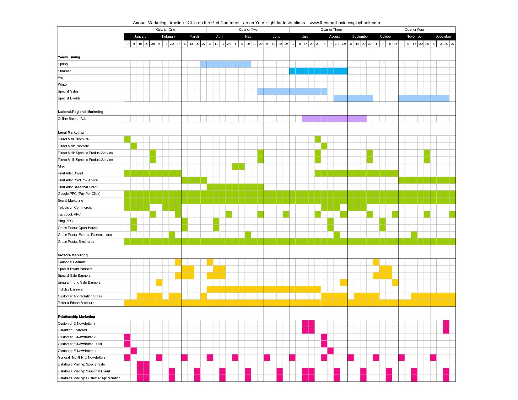 Marketing Activity Calendar Template 17 Best Photos Of Advertising Calendar Template Marketing