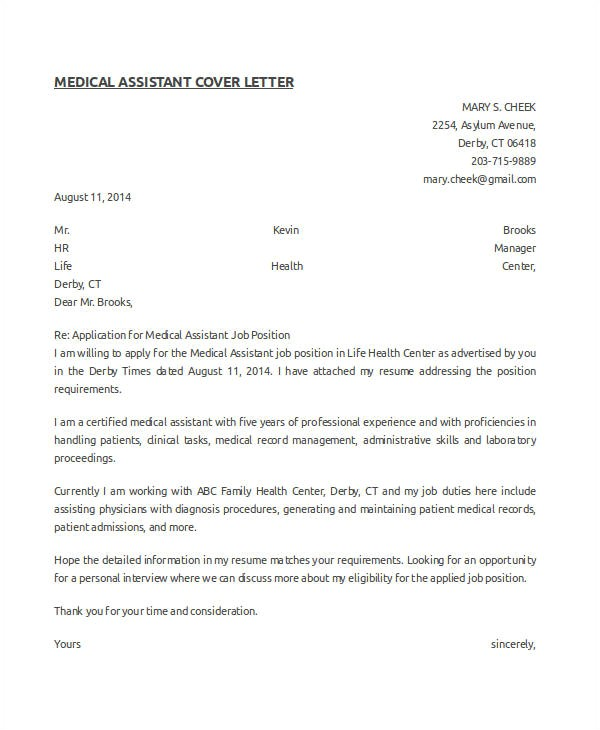 how you write medical assistant cover letter with no experience tips