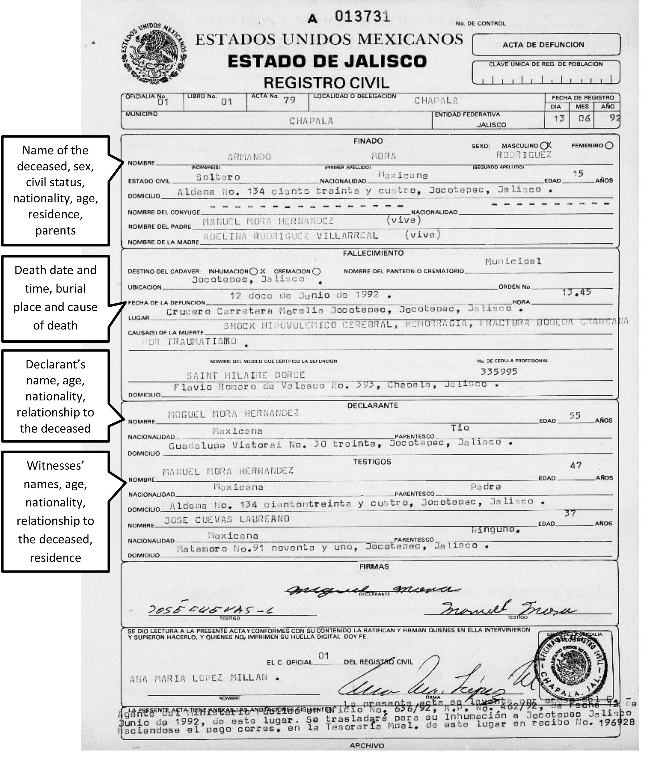 post mexican marriage certificate translation template 492671