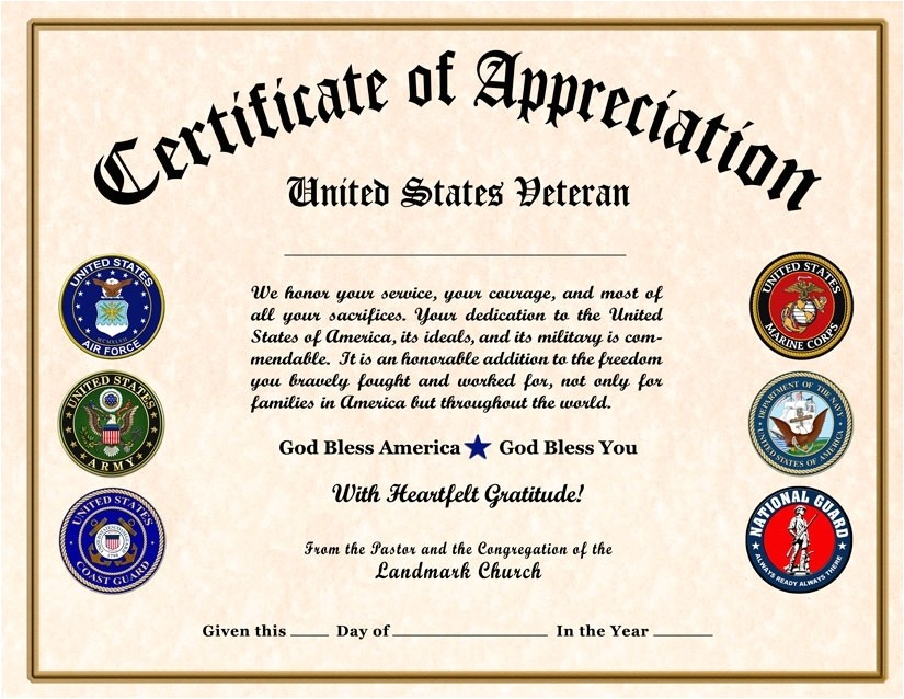 Military Certificate Templates Certificate Of Appreciation Wording Tryprodermagenix org