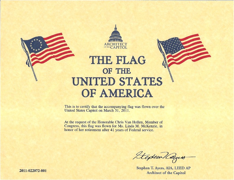 Military Flag Certificate Template 30 Images Of Flag Flown Template Geldfritz Net