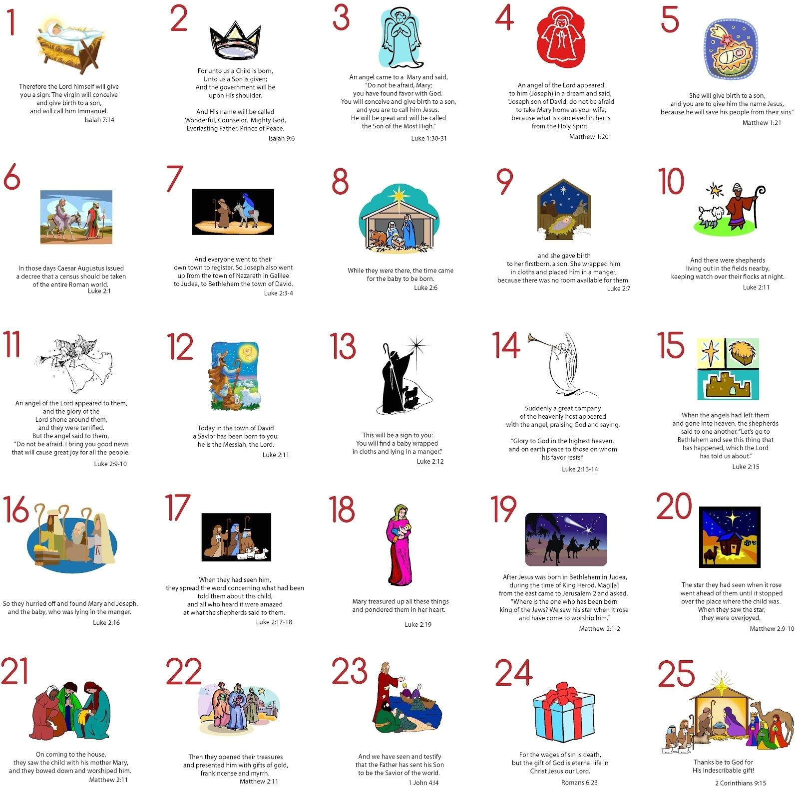 Online Advent Calendar Template Advent Calendar Bible Verses Printable Flash Design