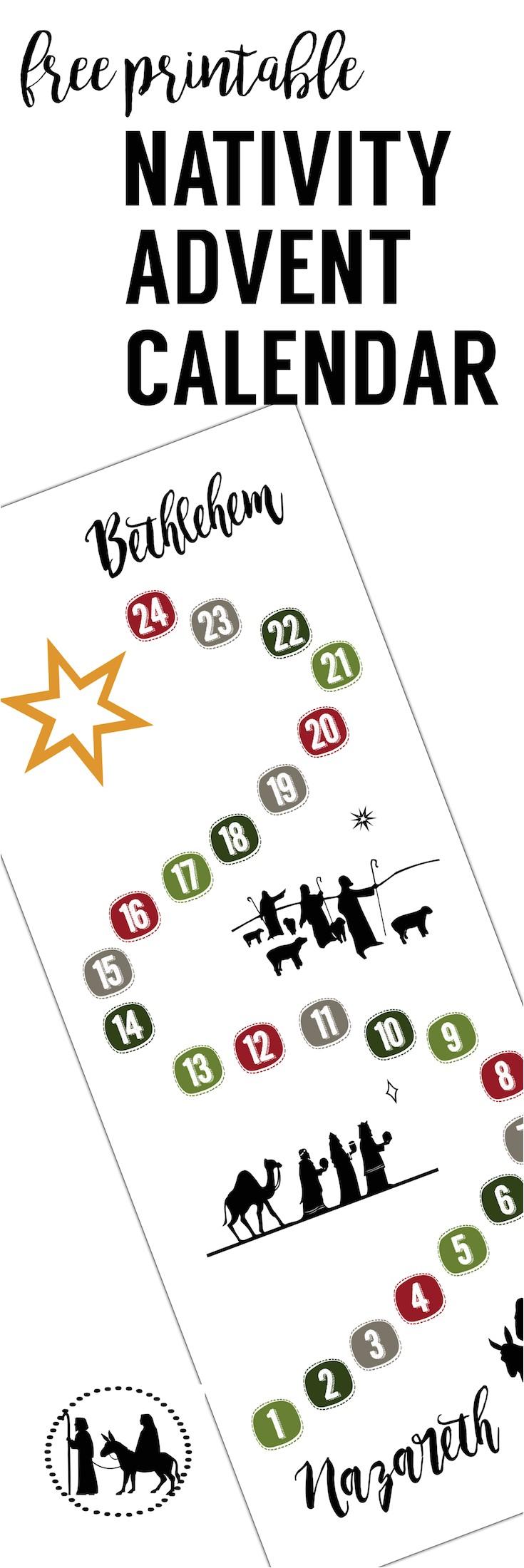 Online Advent Calendar Template Free Advent Calendar Printable Paper Trail Design
