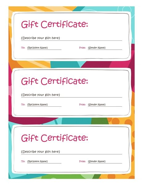 Online Gift Certificate Template 25 Best Ideas About Gift Certificates On Pinterest Diy
