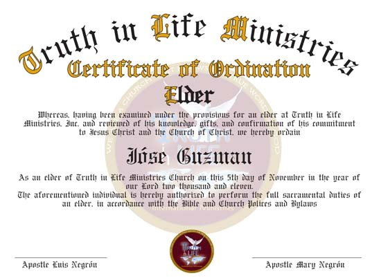 Ordination Certificate Templates Best Photos Of ordination Papers Template Bishop