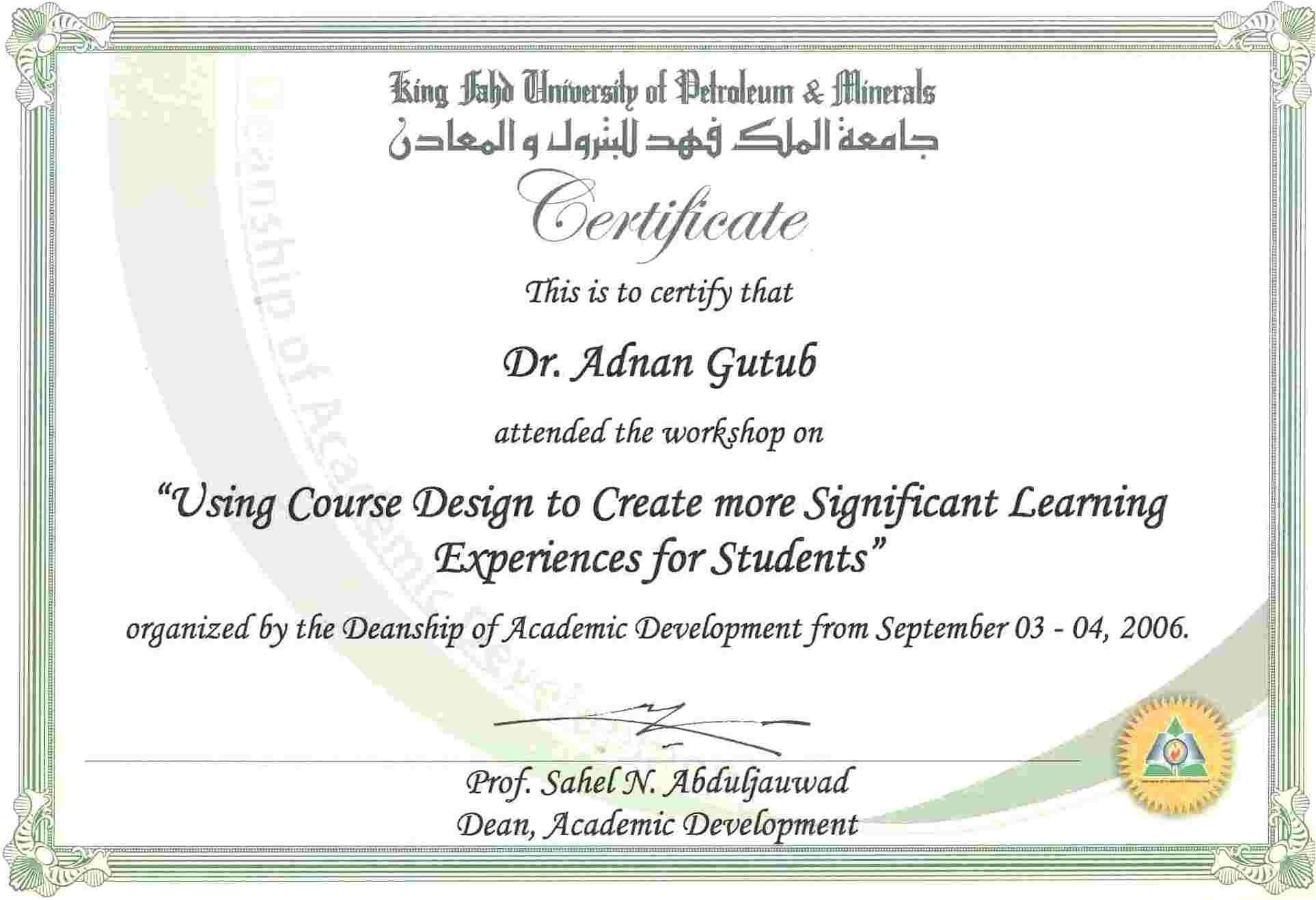 Pdh Certificate Template format Of Experience Letter for Computer Teacher