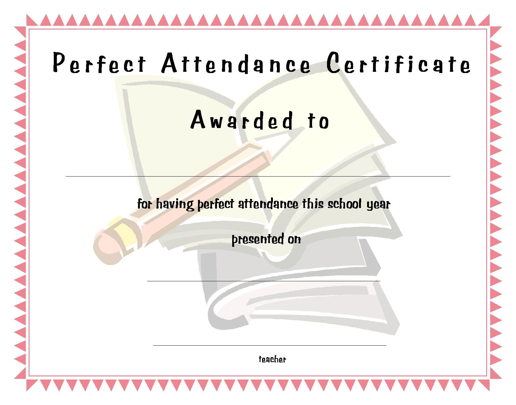 perfect attendance funny quotes