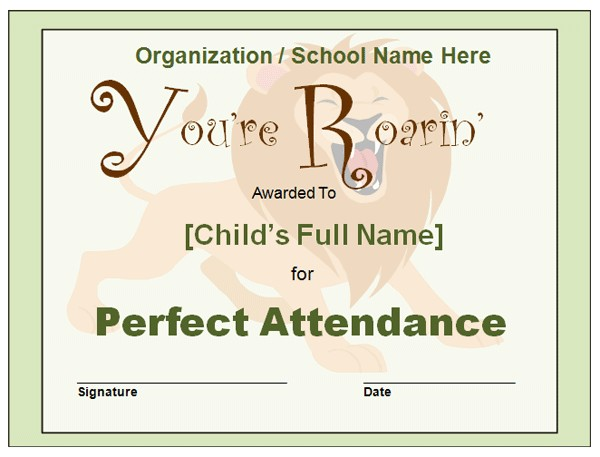 perfect attendance quotes for employees