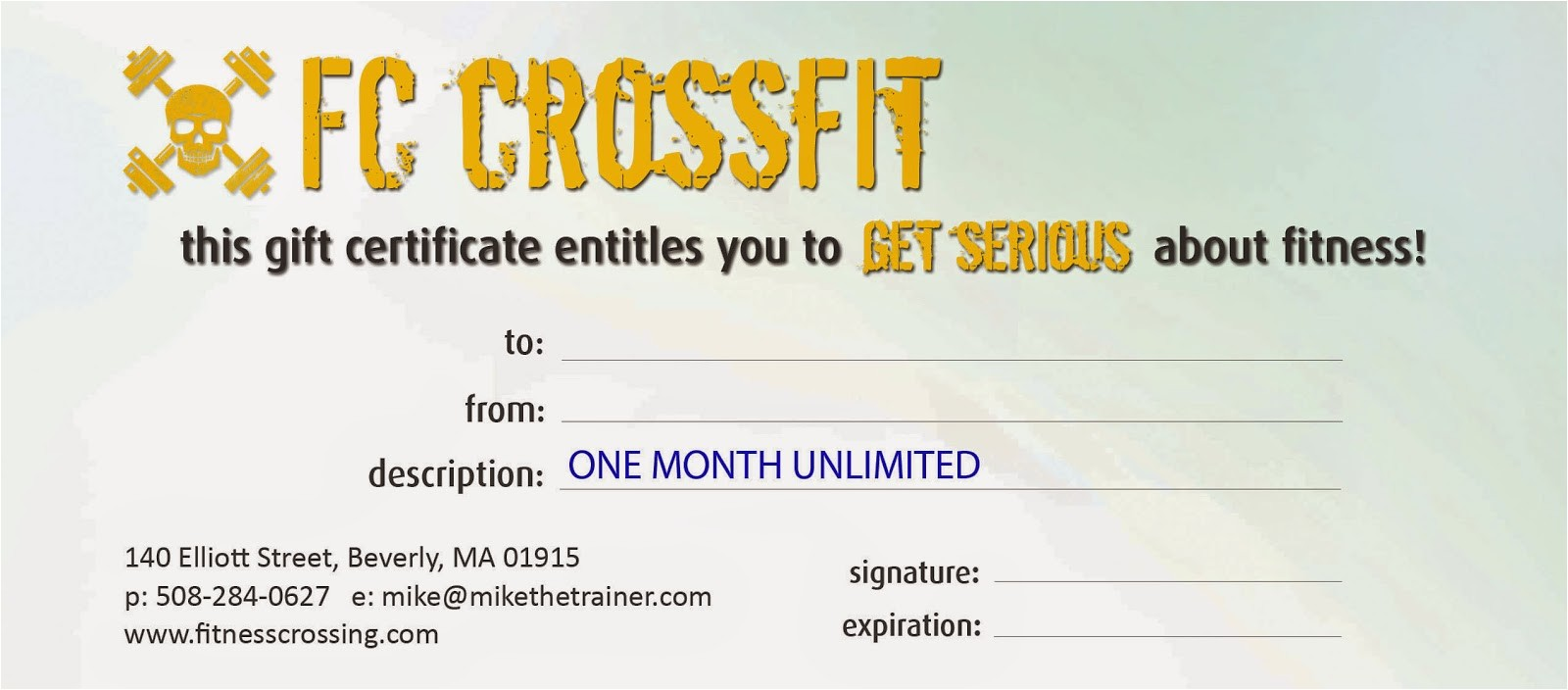 tis season to give gift of crossfit