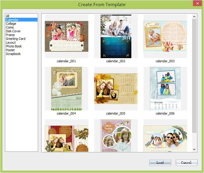 make photo calendar