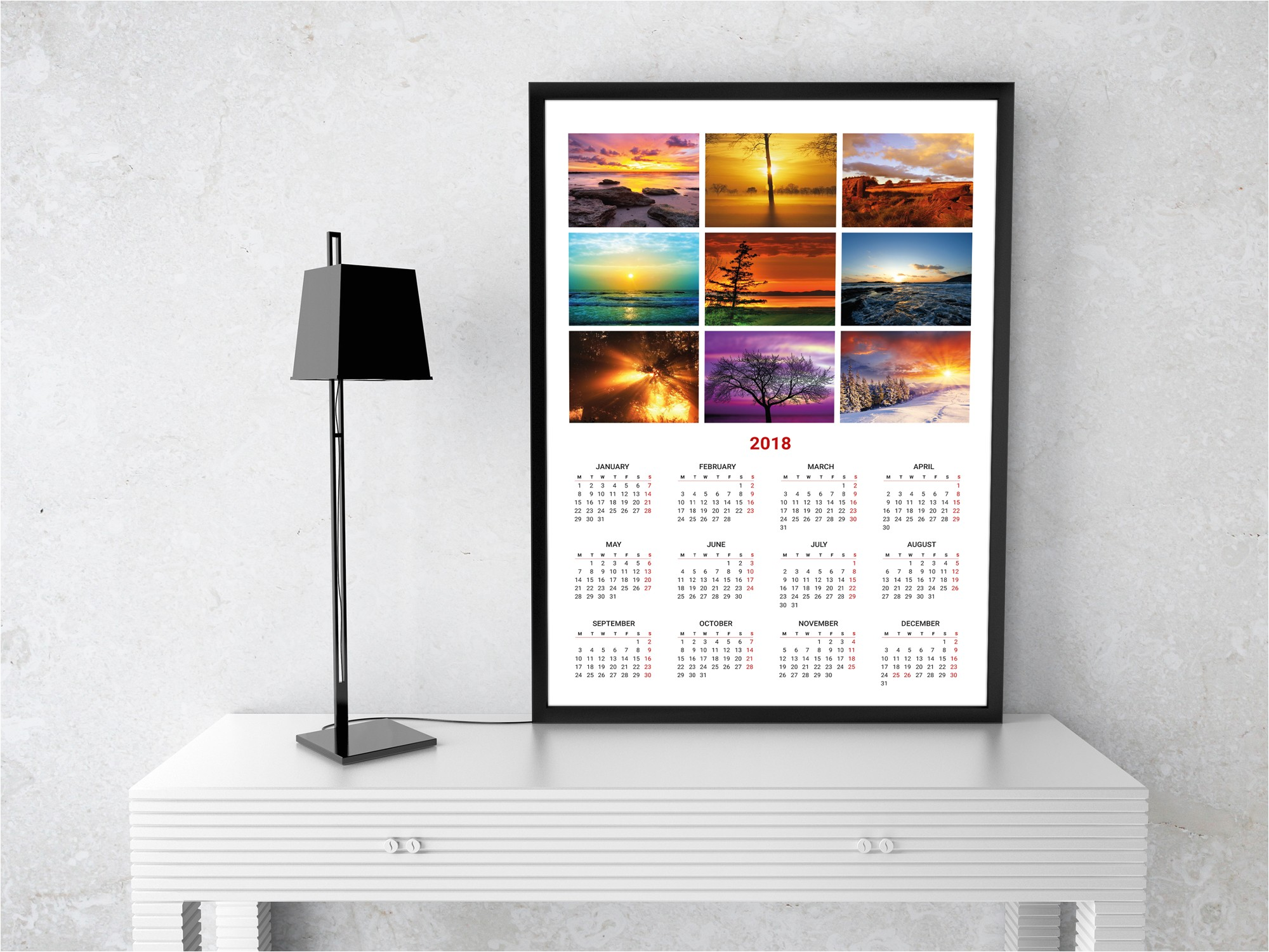 photo calendar template kjp w2