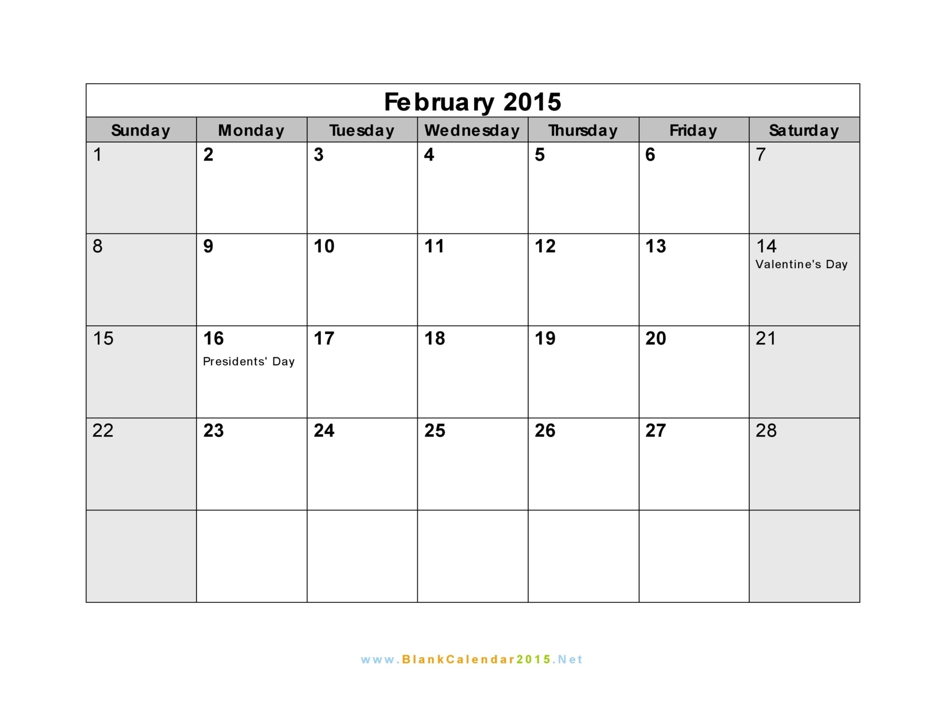 Picture Calendar Template 2015 Calendar 2015 Template 2017 Printable Calendar