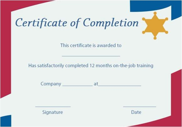Premarital Counseling Certificate Of Completion Template Certificate Of Completion 22 Templates In Word format