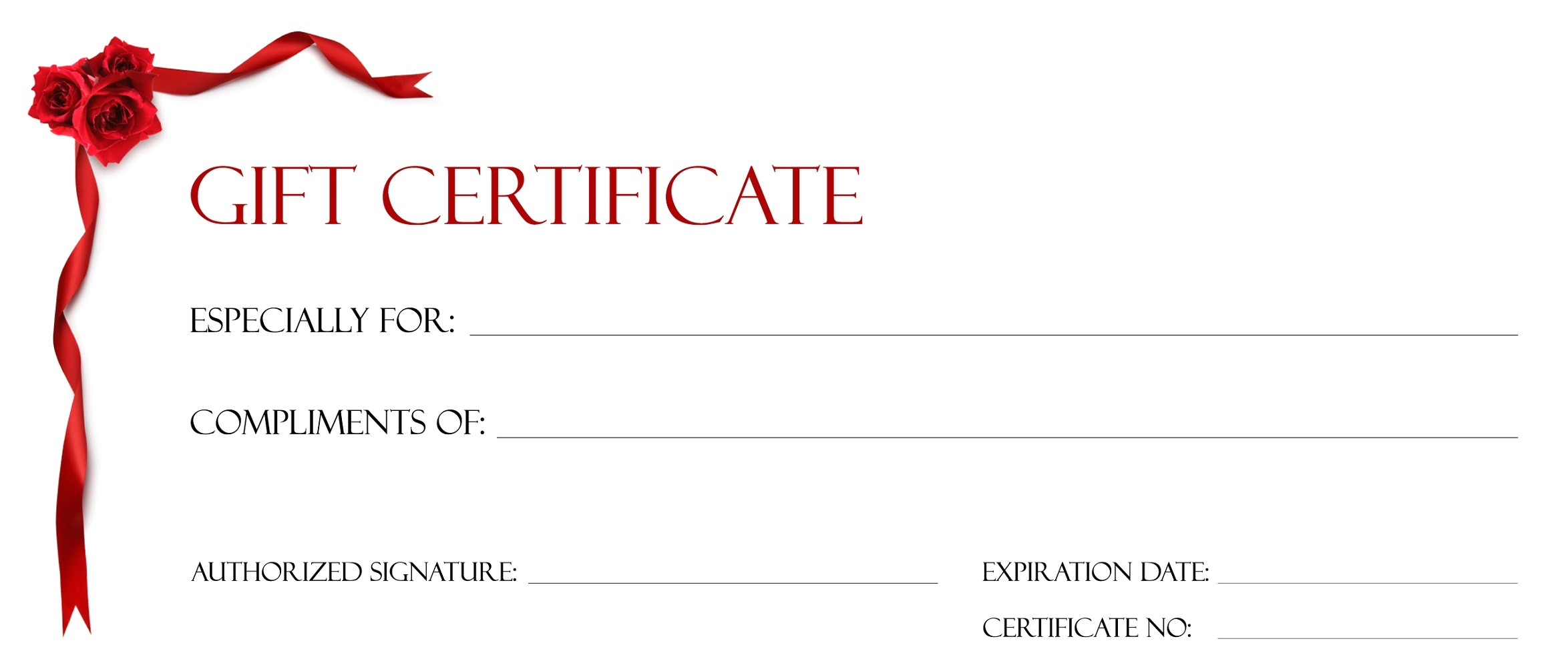 gift certificate templates to print