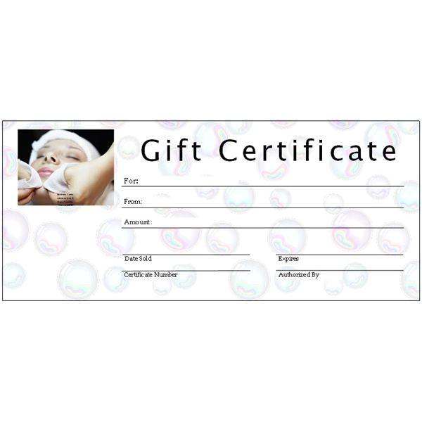 Printable Salon Gift Certificate Templates 8 Best Images Of Photography Gift Certificate Template