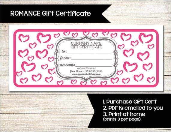pure romance gift certificate coupon