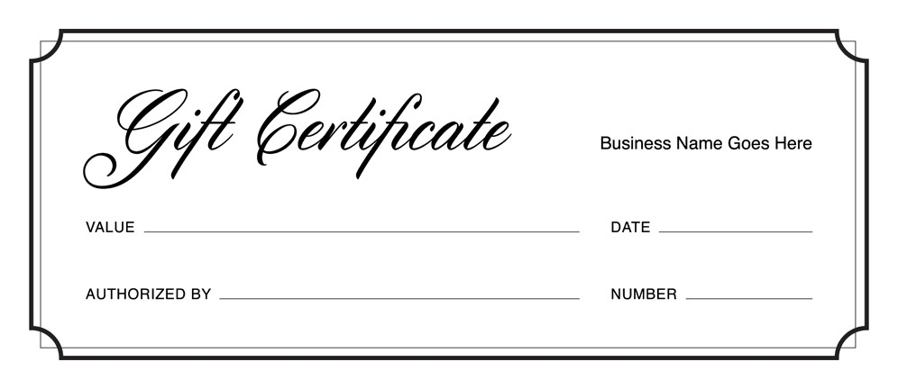 Restaurant Gift Certificate Template Free Download Gift Certificate Templates Download Free Gift
