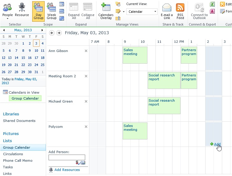 Sharepoint Calendar Templates Reservation Of Resources In Sharepoint 2013 and Sharepoint