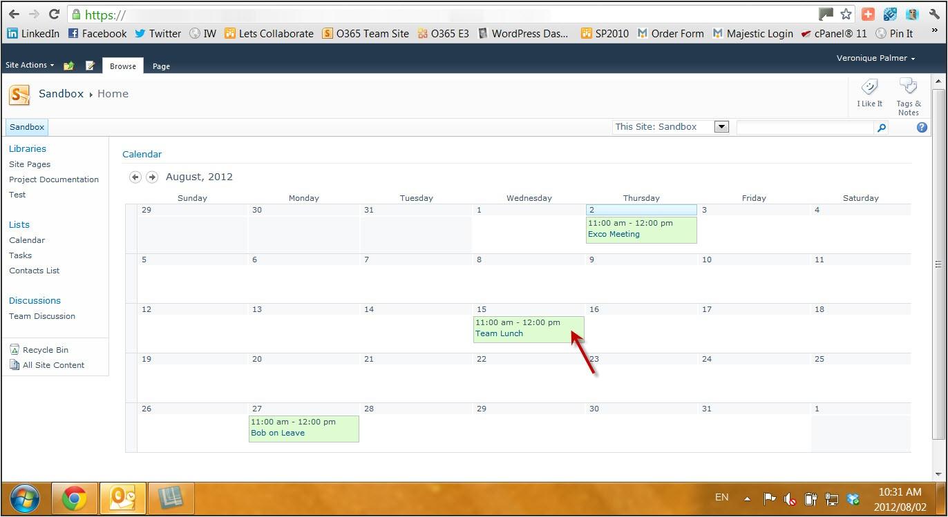 sharepoint calendar image