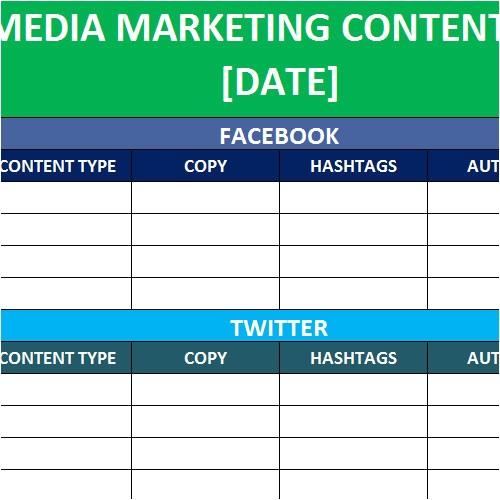 Social Media Editorial Calendar Template Excel social Media Calender Template Excel 2014 Editorial