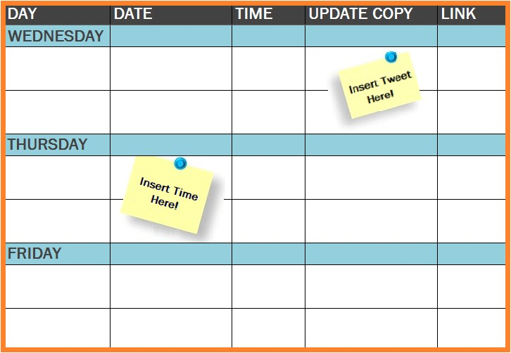 Social Media Publishing Calendar Template social Media Calendar New Calendar Template Site