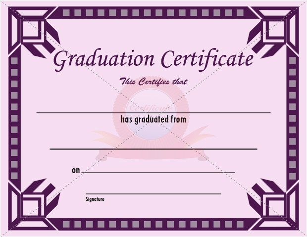 formatted graduation certificate invites templates