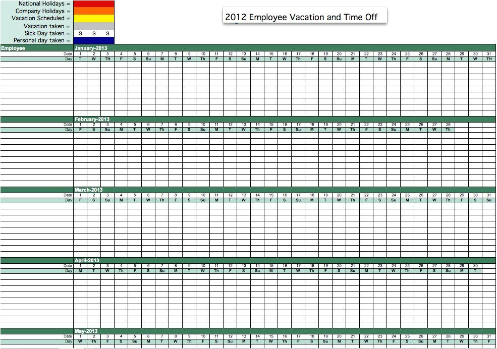 employee vacation time tracking