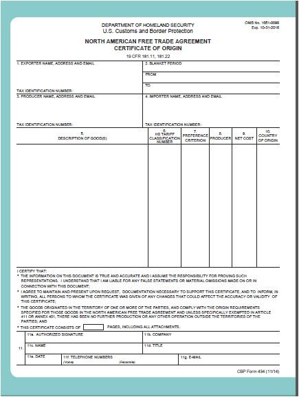 certificate of origin israel pdf