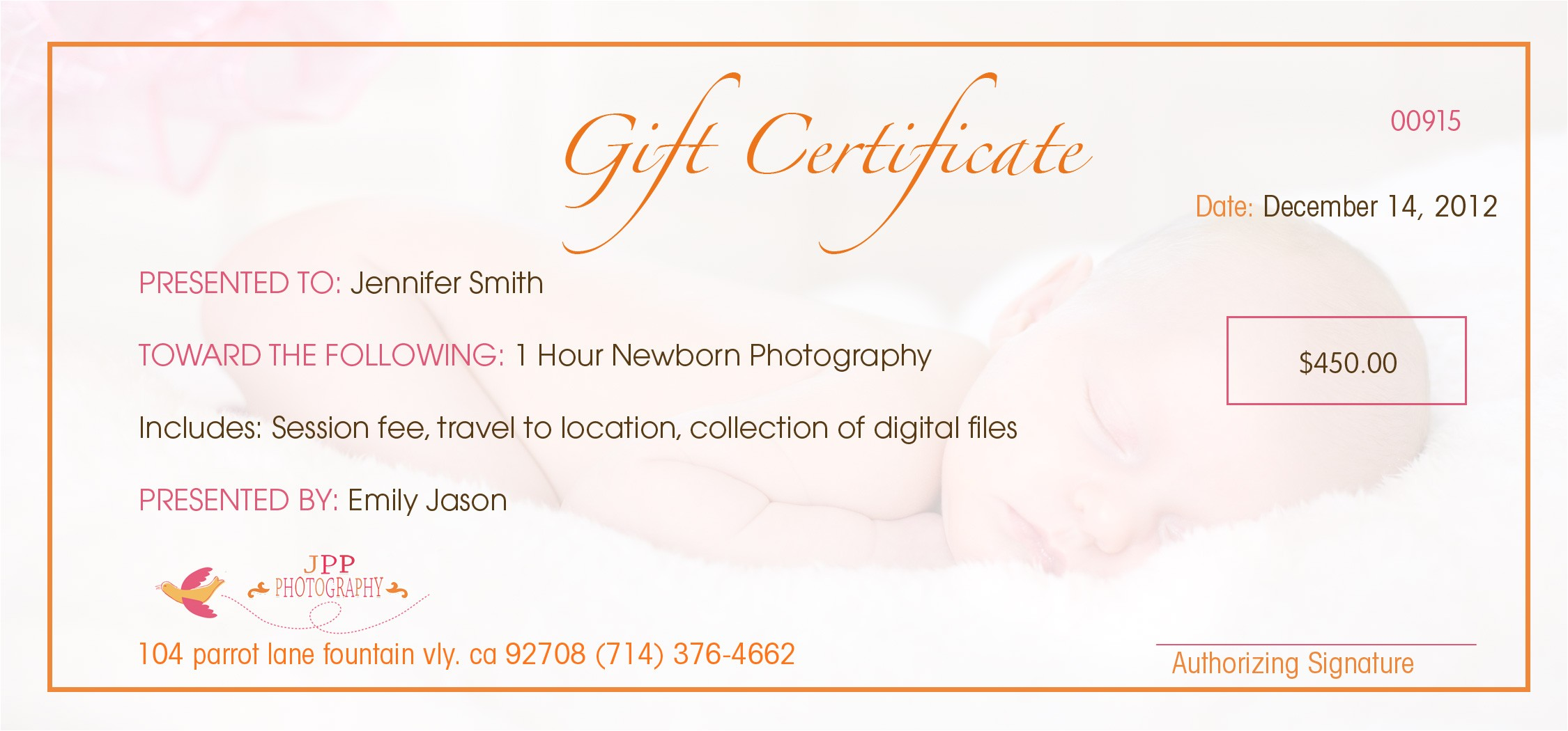 Wording for Gift Certificate Template Gift Certificate Wording Cake Ideas and Designs