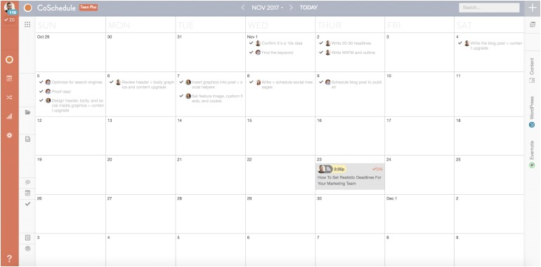 Workflow Calendar Template the Easy 5 Step Content Plan Template to Make Every Piece