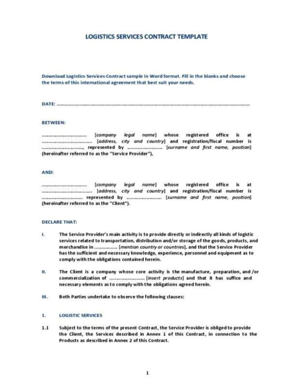0 hours contract template
