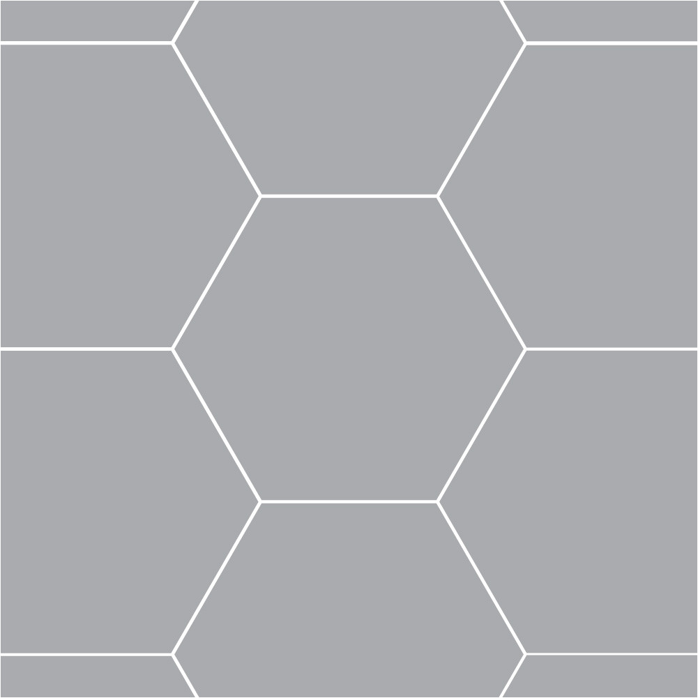 3 inch hexagon template