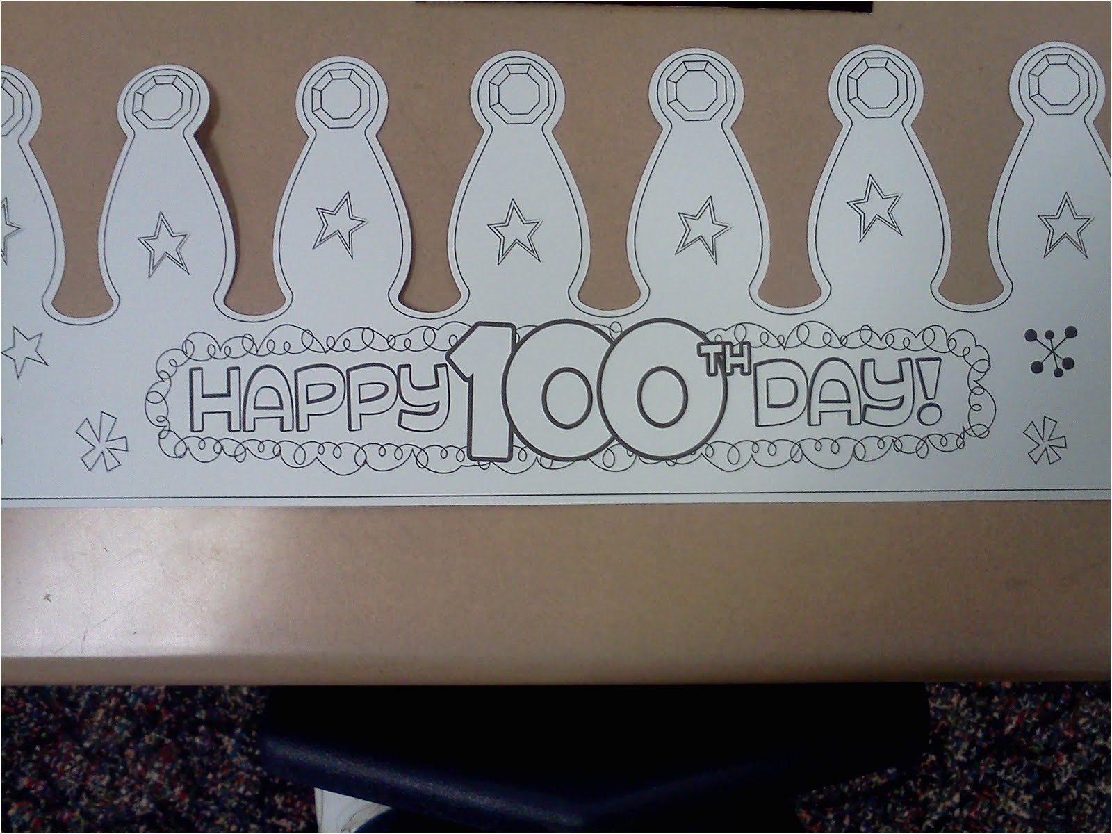 100th Day Hat Template 100th Day Hat New Calendar Template Site