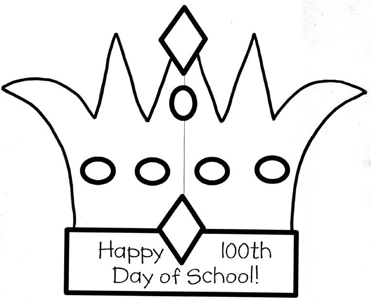 100th Day Hat Template 75 Clever Ideas for 100 Days Of School Tip Junkie