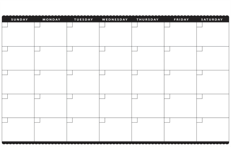 11 x 17 2016 year calendar printable