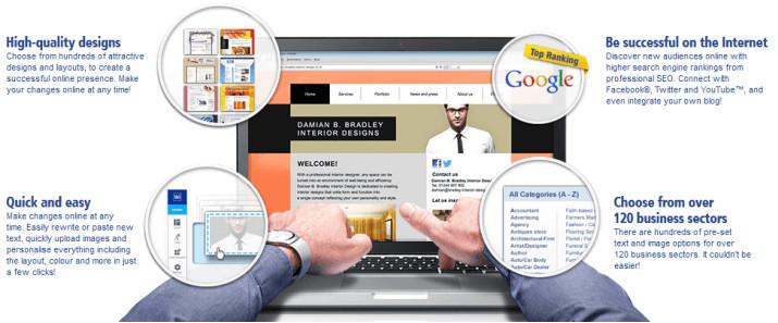 create web site