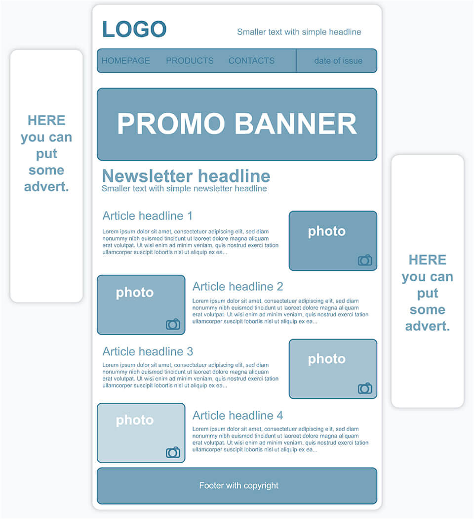 1and1 Templates Creating A Personalized Newsletter Template 1 1