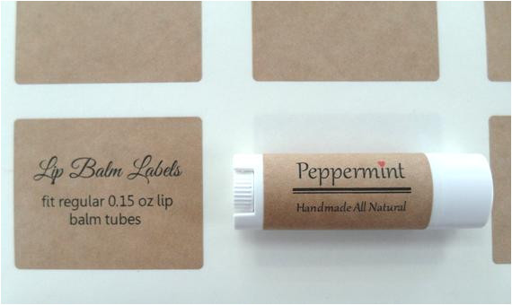 2.125 X 1.6875 Label Template Kraft Lip Balm Label Kraft Label 2 125 Quot X 1 6875 Quot From